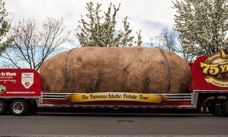 potato main idaho photo